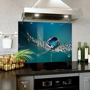 Custom Made Glass Splashback Kitchen Tile Cooker Panel 593x758 mm BESPOKE