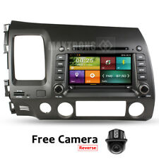 Car DVD Radio Stereo navigation headunit for Honda CIVIC 2006 - 2011 Free Camera