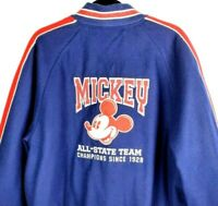 Disney Direct DDM Mickey Mouse Letterman Varsity Wool Jacket Disney Store Mens L