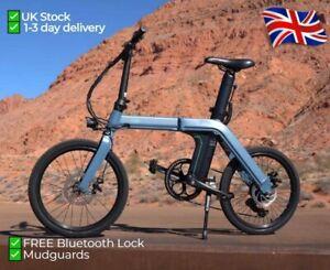 "FIIDO D11 Folding Electric Bike e-bike 11.6Ah 36V 250W 20"" 25km/h Bluetooth Lock"