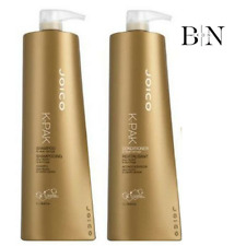 JOICO K-PAK SHAMPOO & CONDITIONER DUO 2 X 1000ML + FREE PUMPS For Damaged Hair