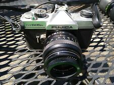 Fujifilm Fujica ST 605N 35mm SLR Film Camera with 3 Lenses, filter, and adapter