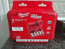 Milwaukee Hole Saw Dozer Kit 7 Piece Automotive Set 49-22-4083 Bi-Metal NEW 2020