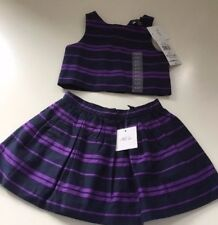 Ralph Lauren Polo Girls Dress 2 Piece Set 2T