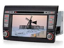 """7""""Autoradio Navigazione Navigatore mappa di navigazione Bluetooth Per Fiat Bravo"""