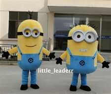 Hot Sale!Minions Despicable Me Mascot Costume EPE Fancy Dress Outfit!Free Ship