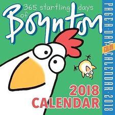 365 Startling Days of Boynton Page-A-Day Calendar 2018 NIB