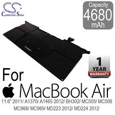 "4680mAh Battery for Apple Macbook Air 11.6"" A1370 A1465 MC 505 506 965 968 969"