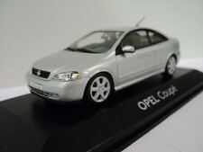 GENUINE Vauxhall Astra G Coupe (Silver) 1:43 Model Car By Minichamps - 9121875