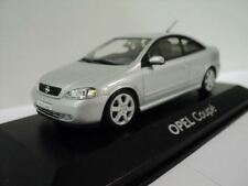 GENUINE OPEL Astra G Coupe (Silver) 1:43 Model Car By Minichamps - 9121875