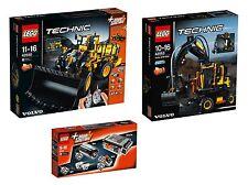 LEGO® Technic Volvo-Set 42030+8293+42053 NEU OVP NEW MISB NRFB