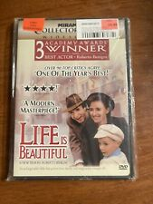 Life Is Beautiful (Dvd, 1999, Collectors Edition) Brand New Sealed