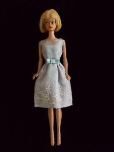 VINTAGE BARBIE BLONDE AMERICAN GIRL 1964 Midge body with Reception Line dress