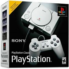 Playstation 1 Classic Mini Console PS1 PS One + 2 Controllers + 20 Games Sealed