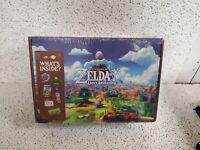 Legend Of Zelda Link's Awakening Collector's Box: Hat, Plush, Sticker, etc! RARE