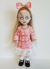 Living Dead Doll Clothes Dress, Hair Bow and Jewelry Fashion NO DOLL dolls4emma
