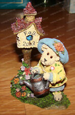 Boyds Aunt Birdie Berriweather Birdhouse.A Sprinkle a Day (Bearstone, 02003-21)