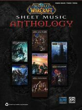 WORLD OF WARCRAFT - SHEET MUSIC ANTHOLOGY *NEW* Piano Solos, Vocal, Book, Game