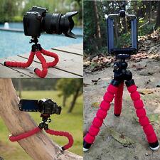 Red Mini Flexible Octopus Tripod Bracket Holder Mount for Cell Phone Camera