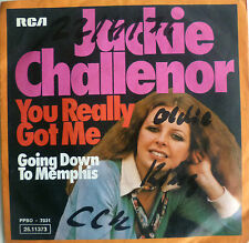 "7""CV KINKS 1976 RAR! JACKIE CHALLENOR You Really Got Me"