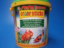 Sera Pond Color Sticks Pellet Food 1.5kg