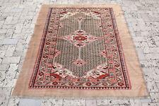 Turkey Old Rug 51''x62'' Handwoven Tribal Vintage Carpet 4x5 Primitive Tent Rug