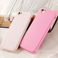 Cute Slim Silicone Rubber Soft Gel Back Case Cover For Apple iPhone 6s 7 7 Plus