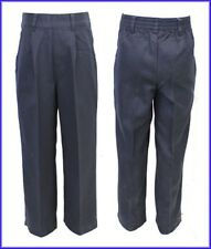 Boys Black School Trousers Brand New Ex Chain-store without Zip