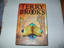 The Voyage  the Jerle Shannara: Antrax by Terry Brooks (2001) SIGNED BE 1st/1st