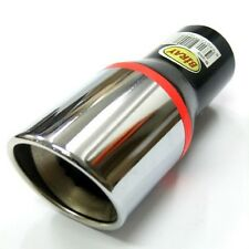 New Universal Car Exhaust Tip Muffler Trim Pipe Chrome