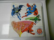 490 Various DC Trading Cards 1990s with Binder SUPERMAN Batman WONDER WOMAN ++++