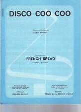 partition FRENCH BREAD disco coo coo