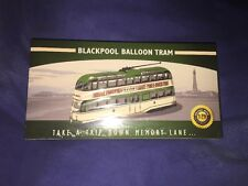 RARE ATLAS EDITIONS - 1/76 CLASSIC BLACKPOOL BALLOON TRAM MODEL BUS.. .