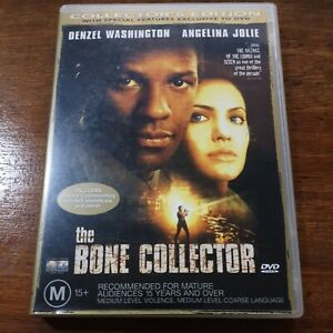 Bone Collector DVD Collector's Edition  R4 Like New! FREE POST