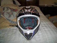 ls2 jump motocross dakar rally helmet size small carbon fiber kevlar super light
