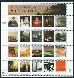 Scott #3236...32 Cent...American Art...Sheet With 20 Stamps