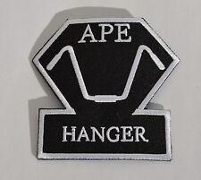 Ape Hanger Biker Chopper Aufbügler Aufnäher Kutte  Badge Harley