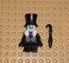 Lego - Minifigure - SH314 - The Penguin, White Fur Collar Complete with Umbrella