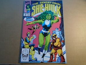 SENSATIONAL SHE-HULK #12 Marvel Comics 1990 NM