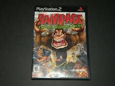 PS2 Rampage: Total Destruction ~Sony PlayStation 2 ~ 2006 ~ CIB ~ TESTED ~ PS2
