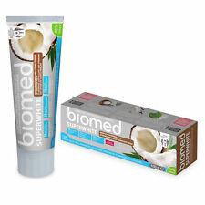 99% Natural Splat BIOMED SUPERWHITE Whitening Toothpaste with Coconut 100g