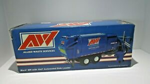 First Gear Allied Waste Services 1/34 Mack MR with Heil Automated Side Loader