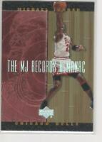 MICHAEL JORDAN 1999 UPPER DECK HARDCOURT #J3 MJ RECORDS ALMANAC FOIL INSERT!