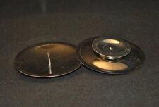 "Tischkerzenständer ""80mm silber"" | Kerzenhalter | Stumpenkerzen | Tischdeko |"