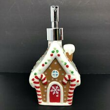 NEW CHRISTMAS GINGERBREAD HOUSE Soap or Lotion Pump Dispenser