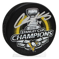 Chris Kunitz Pittsburgh Penguins Signed Autographed 2016 Stanley Cup Champs Puck