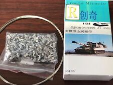 R Model #35135 1/35Metal Track For U S M108 M109 A1-A6  Paladin Self Howitzer