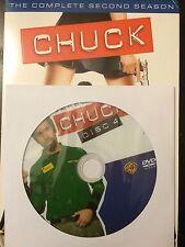 Chuck – Season 2, Disc 4 REPLACEMENT DISC (not full season)