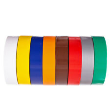Golberg Electrical Tape from Plastic Vinyl - 3/4 Inch Wide 66 Feet Per Roll