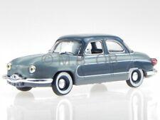 Panhard Dyna Z 1958 grau grau Modellauto in Vitrine 1:43